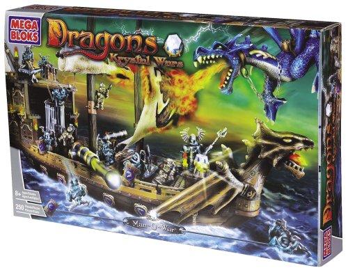 Mega Bloks Dragons Krystal Wars 9895-Hombre Buque
