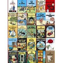 Tim & Struppi, die komplette Comic-Reihe von Hergé (25 Bänder) (Tim und Struppi)