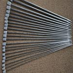 PIXNOR 11 Pairs of 36cm Silver Stainl...