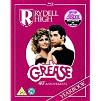 Grease 40th Anniversary Rydell Yearbook