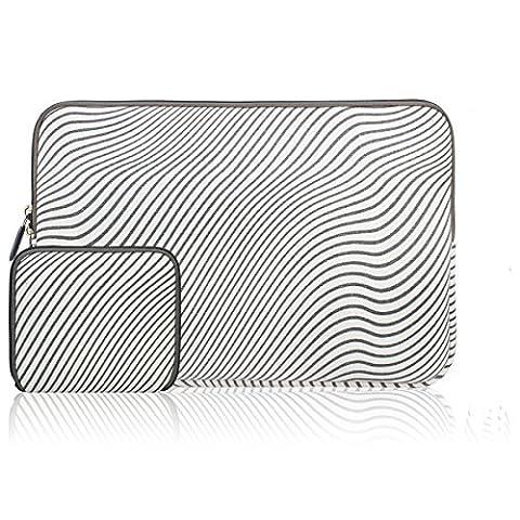 Zikee - Housse pour Macbook air/ pro retina 13,3 pouces, Housse pc portable/ Pochette/ Besace/ Sacoche ordinateur portable pour Apple 12,9 iPad Pro et ultra portable 13,3 pouces Ordinateur Portable