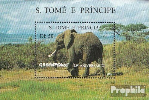 sao-tome-e-principe-block351-completeissue-1996-25-years-greenpeace-stamps-for-collectors