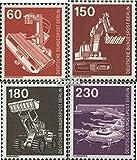 Berlin (West) 582-586 (kompl.Ausgabe) 1978 Industrie und Technik (Briefmarken für Sammler)