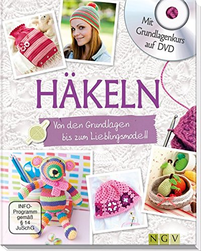 Häkeln - Mit Grundlagenkurs auf DVD: Von den Grundlagen bis zum Lieblingsmodell (Mütze Granny Square)