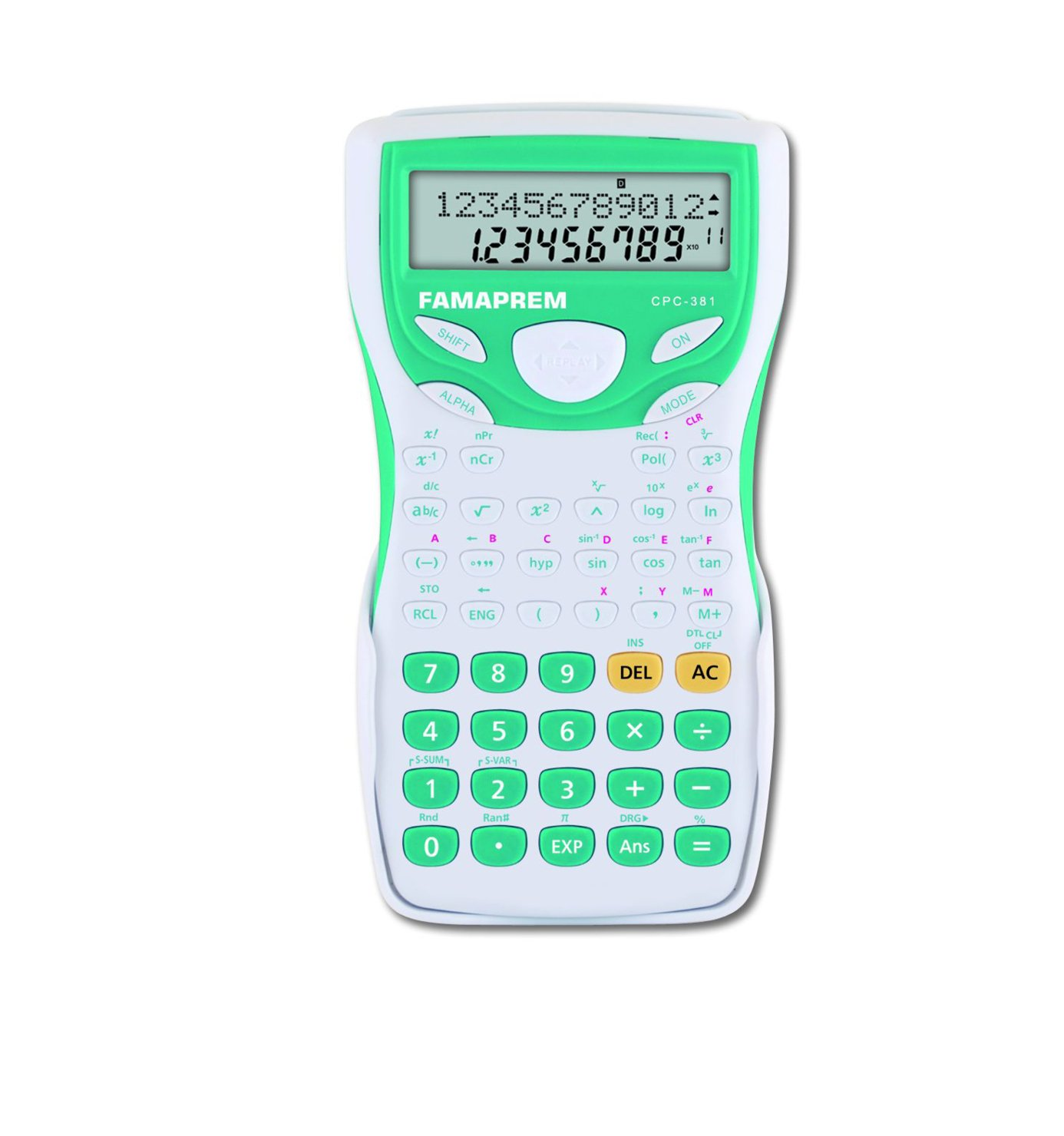 Kooltech-Calcolatrice scientifica a 10 cifre CPC381