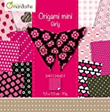 Avenue Mandarine Girly Mini Origami Papier