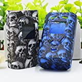 SZDBJS Multi: New Skull Case SMOK Procolor Kit Hotsale Vape Silicone Case Cover Smok Pro Color 225w Box Sleeve Cover Free Shipping