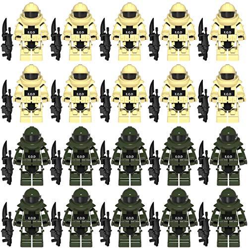 NURICH Custom EOD Kleidung + Waffen Set für Bundeswehr Pionier Explosive Ordance - Militär Set Lego