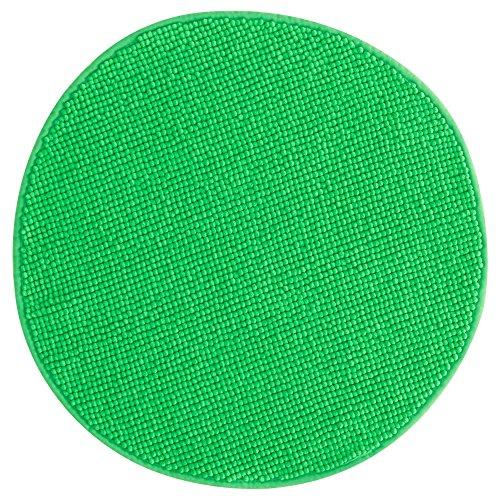 ZigZag Trading Ltd IKEA BADAREN-Alfombrilla de baño, Color Verde