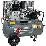 Airpress® Druckluft- Kompressor HK 650-90 (4 kW, max. 11 bar, 90 Liter Kessel) Stromanschluss 400 V