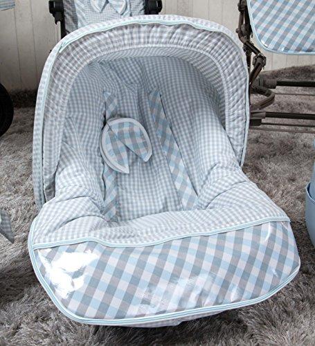 Babyline Summer - Colchoneta para silla grupo 0, color azul