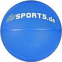 ScSPORTS Medizin-/ Gewichtsball, für variables Fitness-Training, aus texturiertem Gummi für optimalen Grip