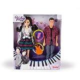 Simba - Kally's Mashup - Poupée Kally + Dante - Coffret Poupées Mannequins 29 cm - Guitare et Micro Inclus - 109413004