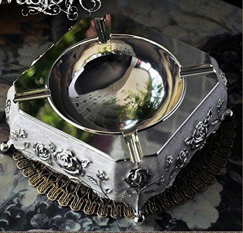 GDS/bemalt im europäischen Stil Luxus Stilvolle Creative Metallverarbeitung Zigarre Aschenbecher Zuhause D ¨ ¦ cor Radzylinder