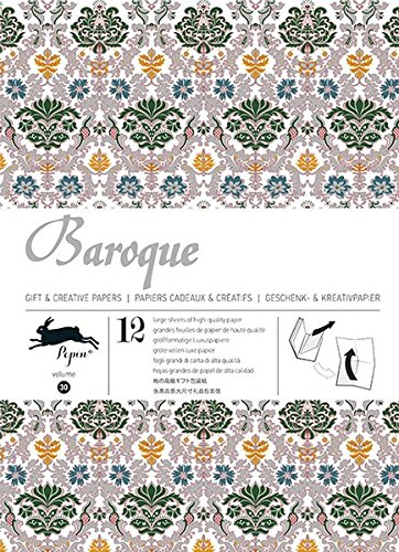 Baroque: gift and creative paper book Vol.30 (Gift Wrapping Paper Book) por Pepin van Roojen