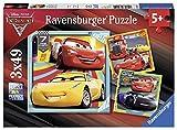 Ravensburger - 08015 - Lot de 3 Puzzles - 49 Pièces - Prêts pour La Course Cars 3 -...