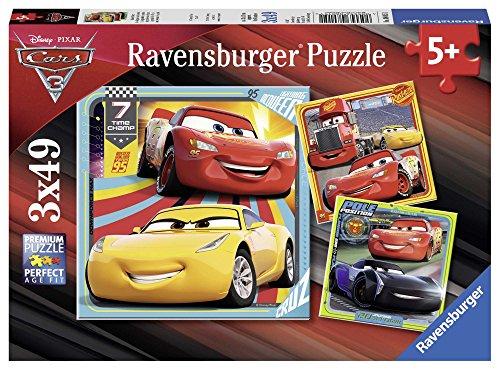 Ravensburger Kinderpuzzle 08015 Disney Cars Bunte Flitzer Kinderpuzzle