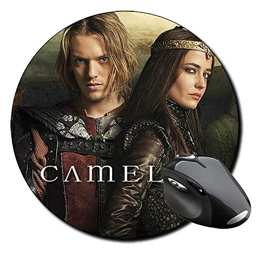 camelot-eva-green-jamie-campbell-bower-alfombrilla-redonda-round-mousepad-pc
