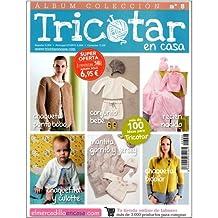 ÁLBUM COLECCIÓN TRICOTAR EN CASA Nº 8 - Revista de tricot y punto