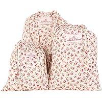 Neoviva Floral Fabric apposita Sacca per lavanderia,