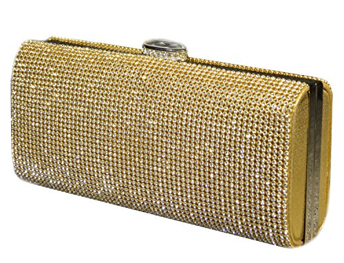 Peacock Dinner Bag borsa sposa Bag Set Elegante coclea signora mini borsa-22232 oro