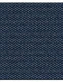 Polsterstoff Möbelstoff Bezugsstoff Meterware für Stühle, Eckbänke, etc. - Milano Blau Abstrakt Polyester Schwer entflammbar Trevira CS- Muster