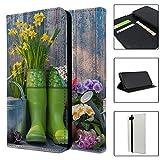 Garten-Blumen Full Flip Case Schutzhülle für für Apple iPhone 7–S4571
