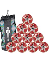10x uhlsport-Balón futsal medusa anteo Fútbol (Bolsa incluida)
