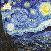 Adult Jigsaw Puzzle Van Gogh: Starry Night: 1000-piece Jigsaw Puzzles
