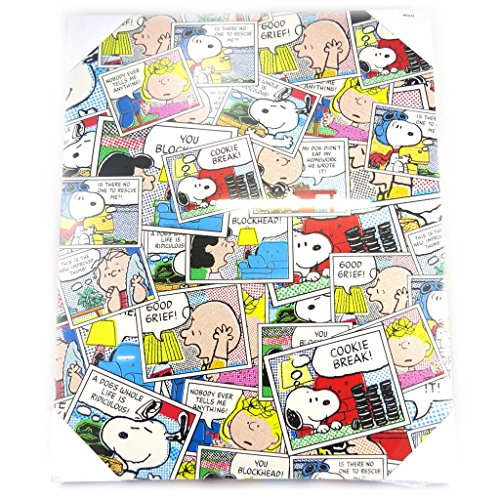 Creative-leinwand 'Snoopy'multicolor patchwork bd (50x40 cm). (Snoopy Bände)