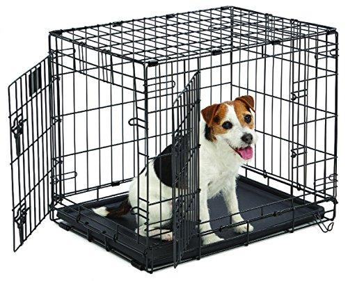 Artikelbild: Midwest Homes for Pets MidWest Life Stages Zusammenklappbare Hundebox mit zwei Türen, 60,96x45,72x53,34cm