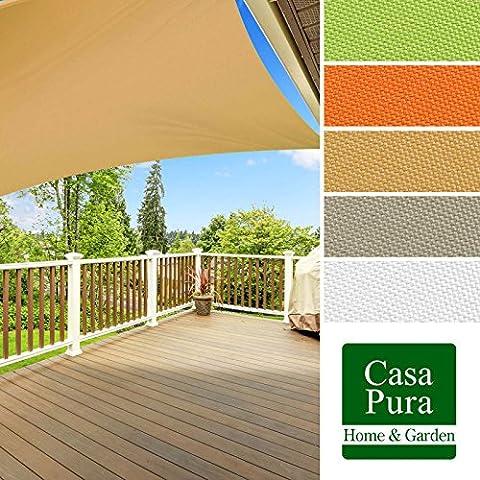 Voile D'ombrage Taupe - Voile d'ombrage casa pura® en coloris divers