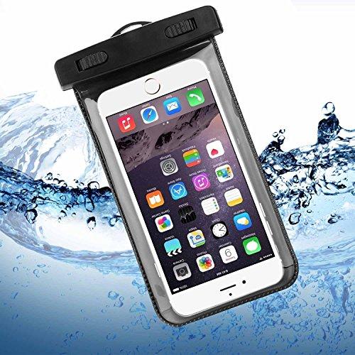 iPhone 6 / 6S Wasserdichte Hülle, Bingsale Wasserdichte Case Tasche Hülle Beachbag fur iPhone 6S Plus 6S iPhone 6 Plus 6 5S 5 Samsung Galaxy S6 S6 Edge S5 S4 Unterwasser Hülle mit Handy 4,0 - 5,5
