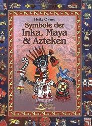 Symbole der Inka, Maya und Azteken.