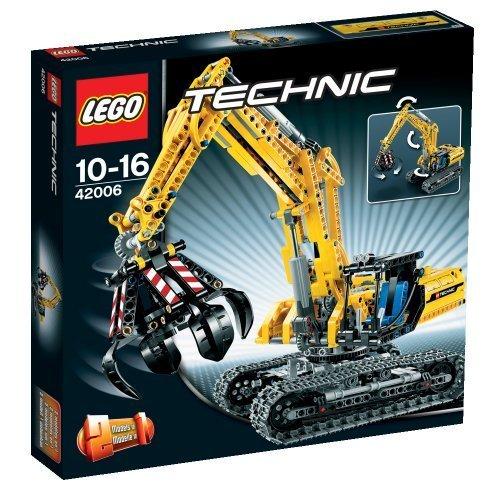 LEGO Technic 42006 Excavator (720pcs) by LEGO