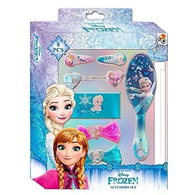 Disney Frozen Set de 8 Accesorios para El Pelo Kids WDFR181 de Kids