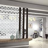 Kernorv DIY Separador de habitación Hecho de PVC ecológico, 12 Piezas Simple y...