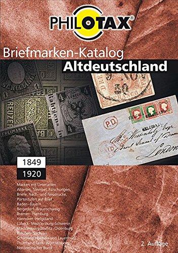 Briefmarken-Katalog Altdeutschland, CD-ROM 1849 - 1920