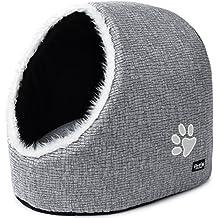 PetPäl Cueva para Animales | para Gatos y Perros pequeños | Casa de Gato Cama Cueva