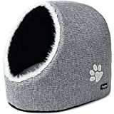 PetPäl Dog & Cat Bed Cave | Cosy Igloo House for Large Cats, Kittens, Small Dogs | Cuddly Sleeping Place for Your Pet