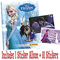 Panini Disney Frozen enchanted moments sticker starter pack (1 Album and 81 stickers)
