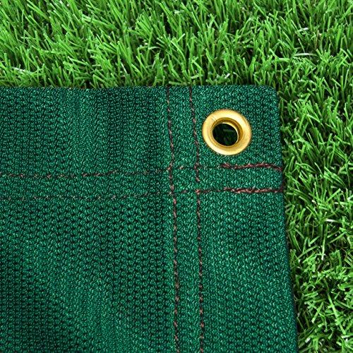 FORZA Hochwertige Bogenschießen Stopp Netze (Grün/Weiß) - eine Auswahl von sechs verschiedenen Pfeilstoppnetz Größen sind erhältlich (Grün, 1,8m x 1,8m)