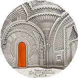TIFFANY ART ORIENTALISM Schloss von Sammezzano 1 Kg Kilo Silber Münze 50$ Palau 2018
