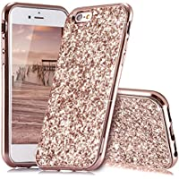 HUDDU iPhone 6 Plus Hülle Glitzer iPhone 6s Plus Handyhülle Bling Glitter Case Hart PC Bumper Hard Back Cover... preisvergleich bei billige-tabletten.eu
