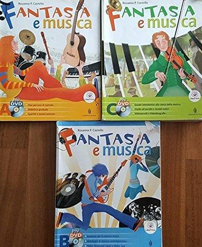 Fantasia e musica. Vol. A-B-C. Per la Scuola media. Con 3 DVD. Con espansione online