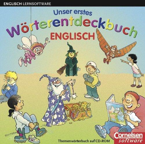 Preisvergleich Produktbild Unser erstes Wörterentdeckbuch Englisch: CD-ROM