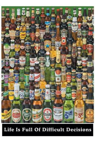 La vita è piena di decisioni difficili Maxi Poster, 61x 91,5cm