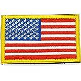 Pegatinas de la bandera con velcro, podría ser pegado a la ropa, chaleco, gorra, mochila Directamente, 5 países a elegir