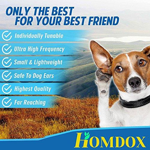 Homdox 3074 Hundepfeife schwarz mit Pfeifenband 9 CM - 2