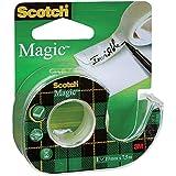 Scotch 8-1975D - Cinta en portarrollos, 19 x 7,5m, multicolor